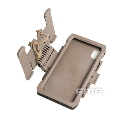 $26.99 • Buy FMA Tactical Phone Case Mobile Shell MOLLE Military Pouch For IphoneXs Max Gear