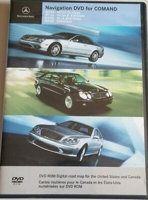 £15.57 • Buy Mercedes-Benz Navigation DVD For COMAND MY04-MY06 E CL S SLK SL & CLS-Class 0017