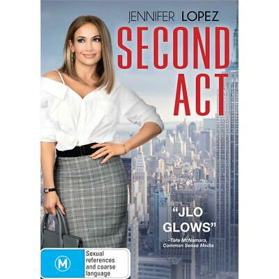 AU7.50 • Buy Second Act (DVD, 2019)