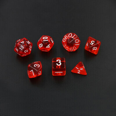 AU9 • Buy 7 Piece Dice Set For Dungeons & Dragons Dnd-Aus Stock Fast Delivery