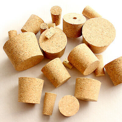 £1.89 • Buy Homebrew Cork Bungs For Home Made Wine Or Beer Fit Demijohn Bottle All Sizes