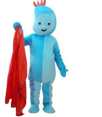 Iggle Piggle Mascot Costume Actual Pictures Halloween Fancy Dress Adults Outfits • 89.99£