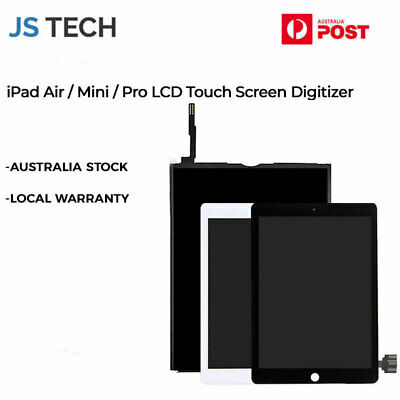 AU219.99 • Buy New IPad 1 2 3 4 IPad Air 1 2 Pro Mini LCD Touch Screen Digitizer Replacement