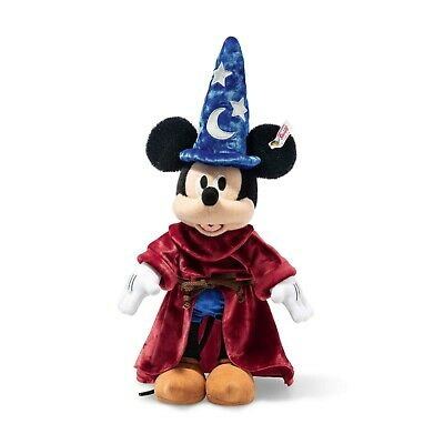$316.08 • Buy Steiff Disney Sorcerer's Apprentice Mickey Mouse Limited Edition Of 1,940 BNWB