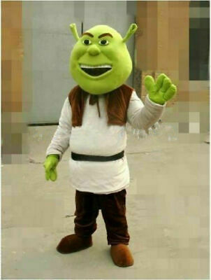 £103.39 • Buy High Quality Shrek Adult Plush Mascot Costume For Festive & Party Supplies Disfr