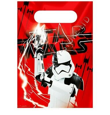 £0.99 • Buy Disney STAR WARS THE LAST JEDI PARTY LOOT BAGS Birthday Party Supplies Boys Gift