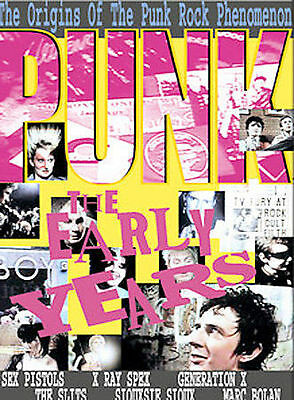Punk - The Early Years (DVD, 2003) • 14.31£