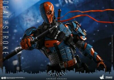 $ CDN399.57 • Buy Hot Toys VGM30 1/6th Scale Batman Deathstroke Action Figure Collectible