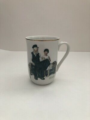 $ CDN4.61 • Buy Vintage Norman Rockwell  The Lighthouse Keeper's Daughter  Mug 1982