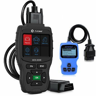 Auto OBD2 EOBD Vehicle All System ABS Engine SRS PCM CBS Diagnostic Tool • 148.88$