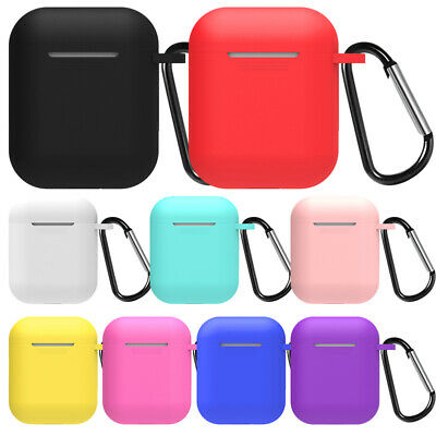 $ CDN1.71 • Buy For Apple AirPods 1 2 Case Protector Silicone Cover Skin Earphone Charger Cases
