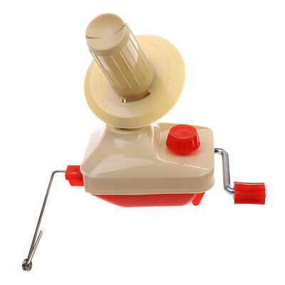 Yarn Fiber String Ball Wool Winder Holder Hand Operated For Home Use • 14.56£