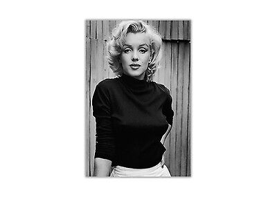 Black And White Marilyn Monroe Fashion Shoot Poster Prints Wall Art Pictures • 4.99£