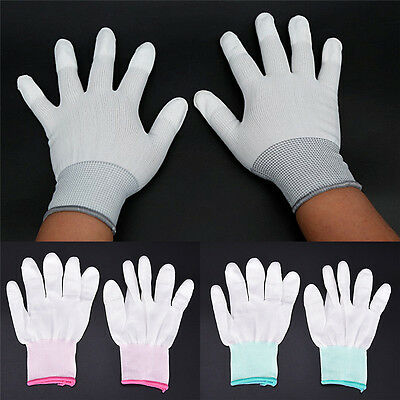 $5.75 • Buy Anti Static Antiskid Glove ESD Electronic Labor Worker Computer Phone Repair FD