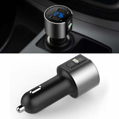 AU20.80 • Buy Handsfree Wireless Bluetooth Car Kit FM Transmitter Radio MP3 Player USB Charger