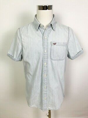 AU20 • Buy Hollister Co. Mens Casual Surf Skateboarding Button Up Shirt Size XL
