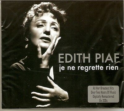 Edith Piaf - Je Ne Regrette Rien / The Best Of / Greatest Hits 2CD NEW/SEALED • 5.89£