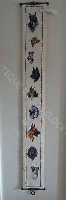 House Bell Pull Cord With Dogs Nice! • 50.07£