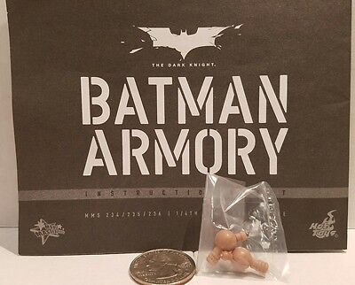 $ CDN7.28 • Buy  Hot Toys MMS236 Batman Armory 1/6 Action Figure's Wrist Pegs Only!
