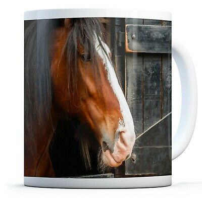 Shire Horse Animal Nature-Drinks Mug Cup Kitchen Birthday Office Fun Gift #12685 • 9.99£