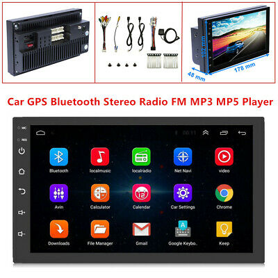 $101.99 • Buy Android 8.1 7'' 2Din 16GB Car Radio GPS Navigation Audio Stereo DVR MP5 Player