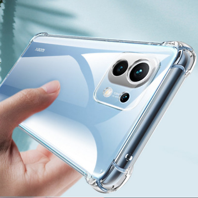 $2.63 • Buy For Xiaomi Mi 11 Lite 10T Pro Redmi Note 9S 8T Shockproof Clear Soft Case Cover