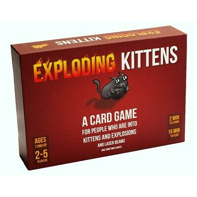 AU49.95 • Buy NEW Exploding Kittens By Pop Culture & Party Games
