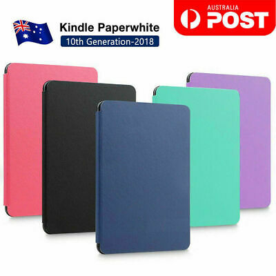AU10.28 • Buy Amazon KINDLE Paperwhite 10th Flip Leather Folio Case Cover Slim Magnetic