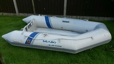Seabo Boat Dinghy With Outboard Motor • 800£