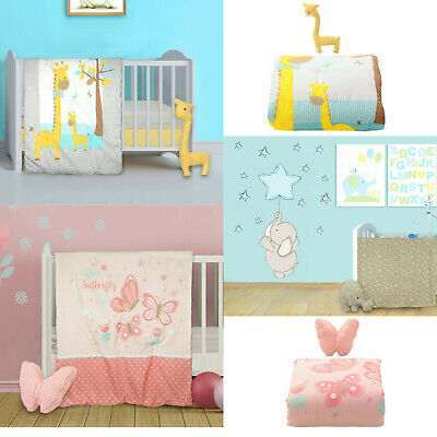 2 Piece Nursery In A Bag Baby Crib Bedding Set 100% Cot Holiday Special • 20£