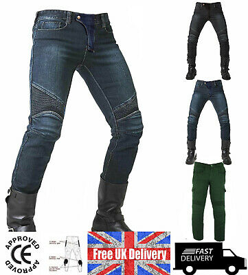 Motorcycle Motorbike Jeans Trousers / Pants Cargo Style Motrox Off-Road Clothing • 39.99£