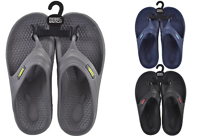 Mens Boys EVA Toe Post Summer Beach Pool Footwear Flip Flop Size 5 6 7 8 9 10  • 5.99£