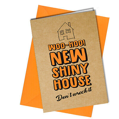 NEW HOME CONGRATULATIONS CARD ADULT FRIEND RUDE JOKES Comedy Funny Humour #1083 • 3.15£