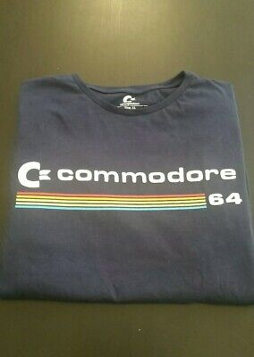 £11.99 • Buy Commodore 64 Navy T-shirt. Size XL Short Sleeved Video Game Console Themed