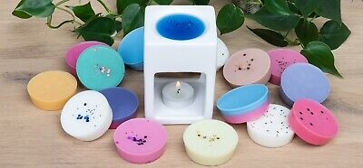 2oz SOY WAX MELT POTS - HIGHLY SCENTED - MANY FRAGRANCES - FREE P&P • 2.25£