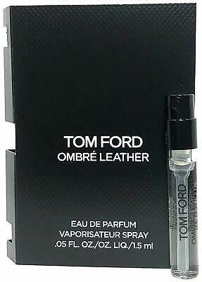 AU17.95 • Buy Tom Ford Ombre Leather 1.5ml Offical Carded Spray Sample Vial 100% Genuine (NEW)