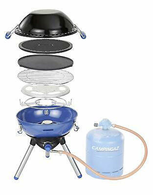 1 Burner Stainless Steel Gas Table Top Barbecue BBQ Camping Grill Stove Portable • 135.99£