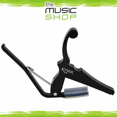 $ CDN43.01 • Buy New Kyser KGEBA Quick Change Electric Guitar Capo  - Black - USA Made