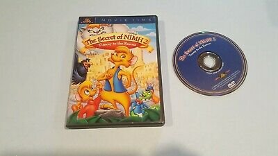 The Secret Of NIMH 2: Timmy To The Rescue (DVD, 2001, Movie Time) • 5.75£