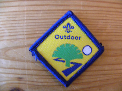 £1 • Buy Discontinued UK Scouting Beaver Scout Challenge Award Outdoor