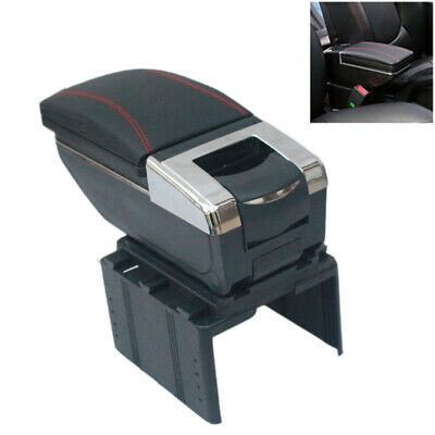 $56.39 • Buy Car Central Container Armrest Box PU Center Storage Case Cup Holder Accessories