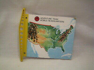 $ CDN25.11 • Buy VINTAGE GI Joe Parts Lot Adventure Team Mobile Support Vehicle Map