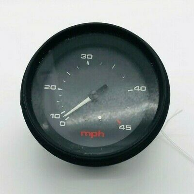 $29.95 • Buy 940320 Boat Speedometer 0-45 MPH With Light - For 3.25  Hole