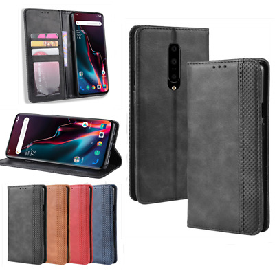 AU11.67 • Buy For OnePlus 7 Pro 6T 6 5T 5 Magnetic Leather Case Cover Flip Wallet  Card Holder