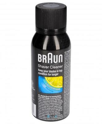 AU19.84 • Buy Braun Liquid Spray For The Cleaning Of Head Knife Razor Cruzer Series 9