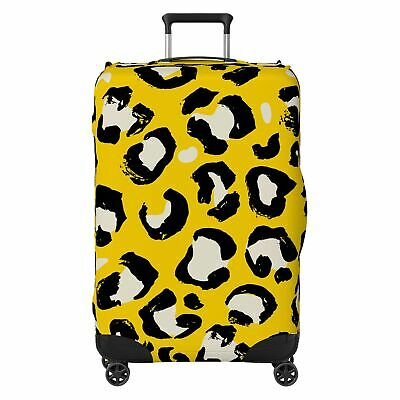 Animal Fur Style SUITCASE COVER Skin Protector Yellow • 22.99£