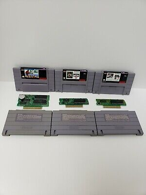 $ CDN19.99 • Buy Snes Sports Game Lot Of 3 Madden94 ,nhl 94 And Goal! Tested And Working