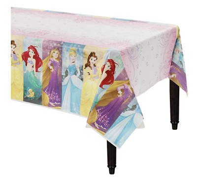 Disney PRINCESS Plastic Table Cover ~ Girls Birthday Party Supplies Decoration • 5.09£