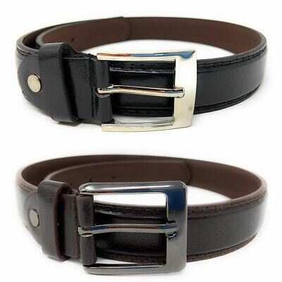 $9.35 • Buy Casaba Italian Style Leather Belts For Kids Boys 2 To 10 Years