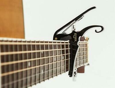 $ CDN47.80 • Buy Kyser Quick-Change Capo For 6-string Acoustic Guitars Black Guitar Accessories
